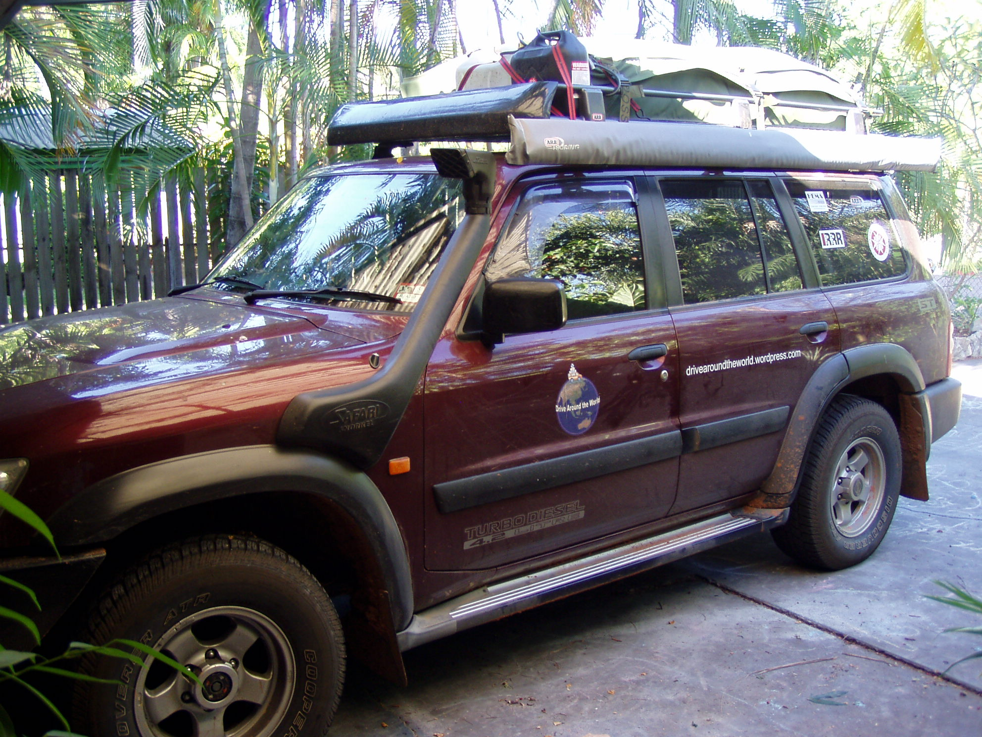 the vehicle drive around the world australia. Black Bedroom Furniture Sets. Home Design Ideas